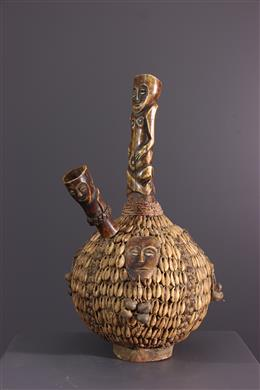 African art - Lega Water Pipe