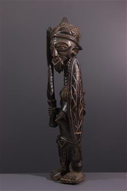 African art - Warrior figure Bena Lulua. Luluwa