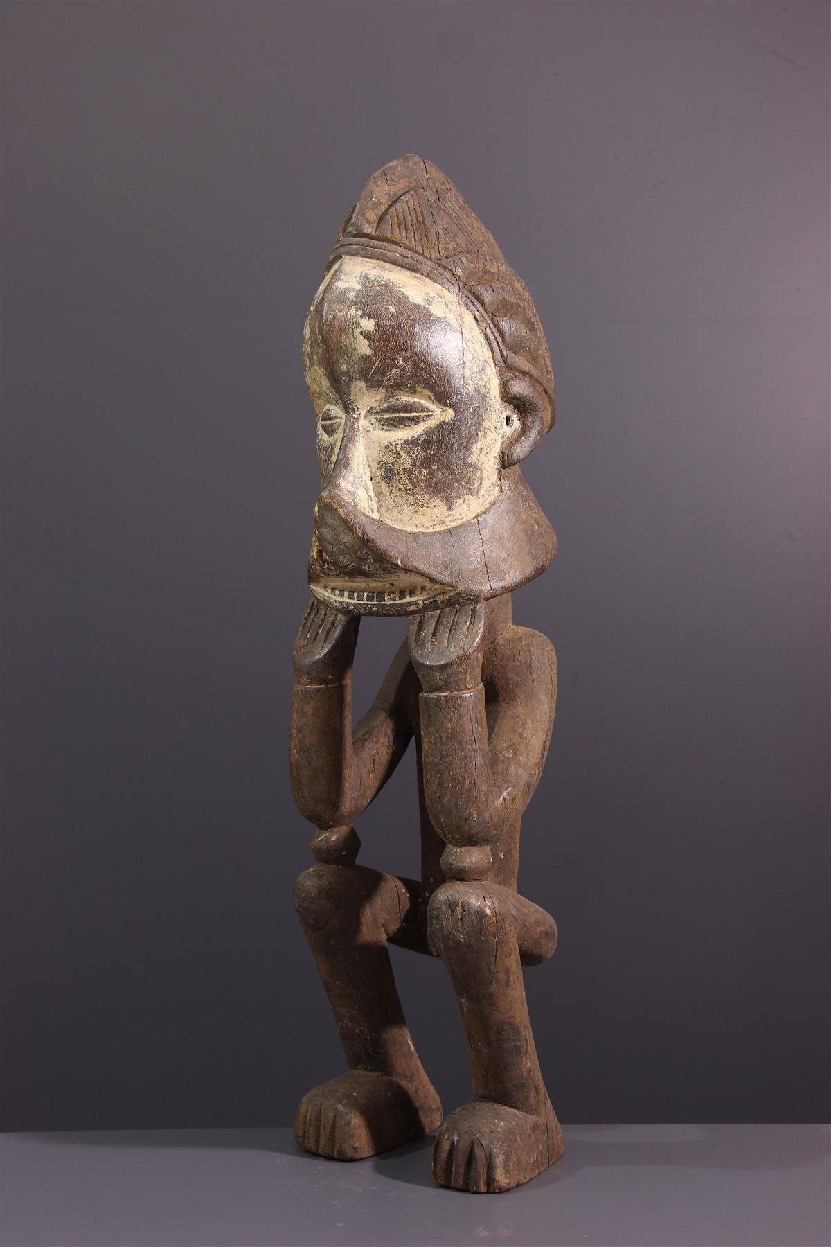 Statue Suku - African art