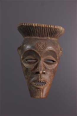 African art - Small mask Cihongo, Chihongo, Chokwe