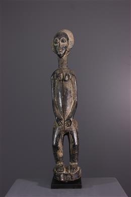 African art - Baule Blolo bia statue