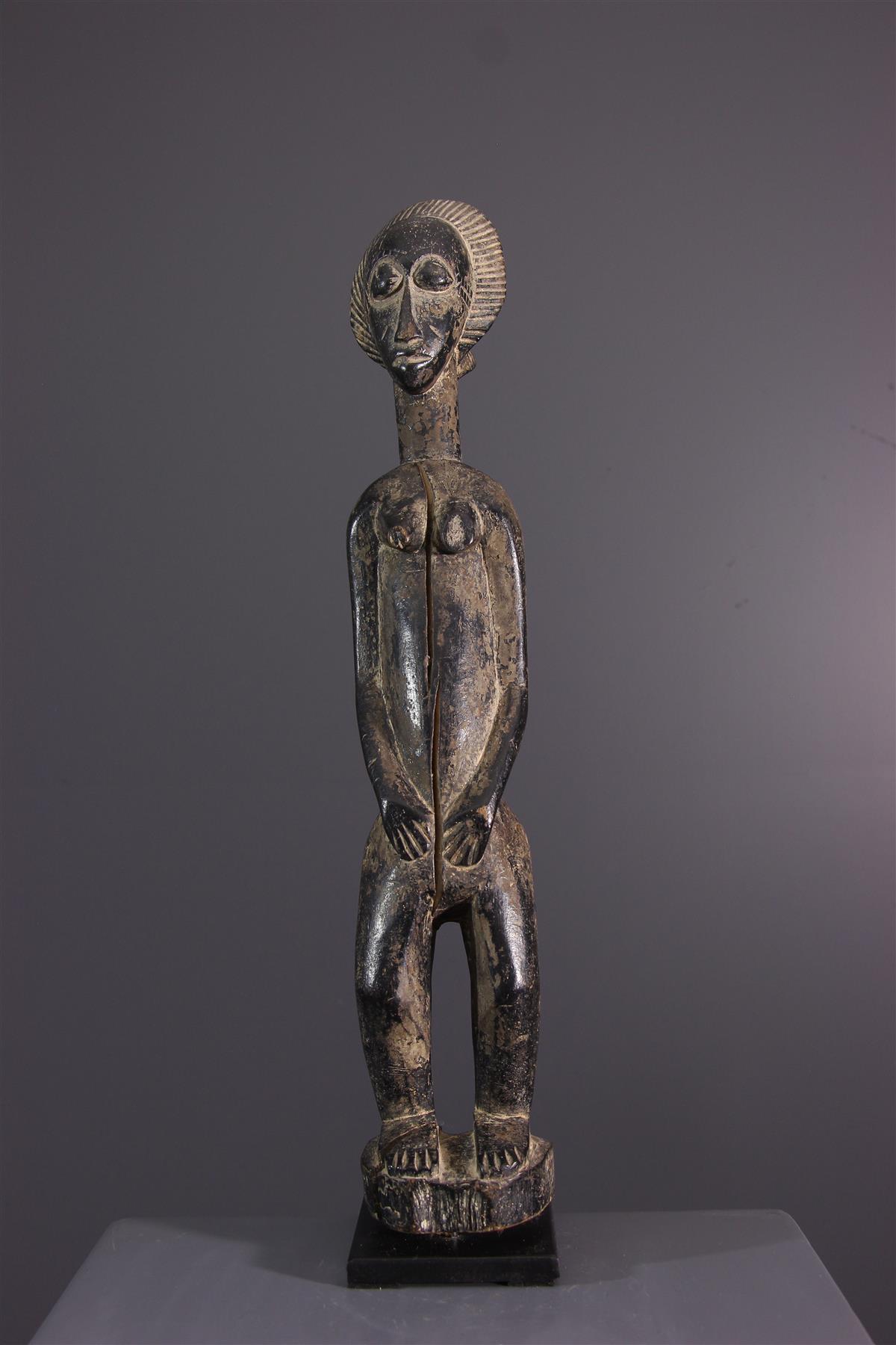 Figure Baoulé - African art