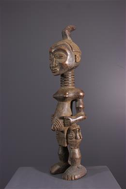 African art - Female figure Lulua, Luluwa