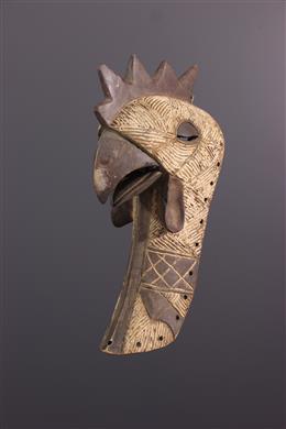 African art - Mask Mukisi a kukaya Luba Kifwebe