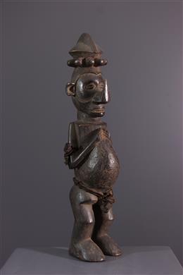 African art - Yiteke statuette of Yaka