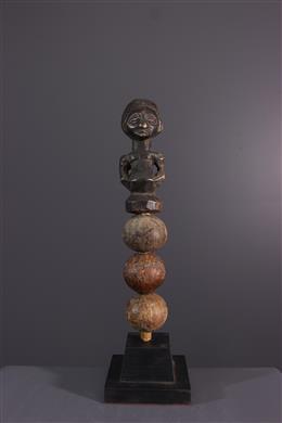 African art - Ritual rattle Luba / Hemba Kabwelulu