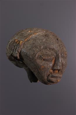 African art - Head Luba