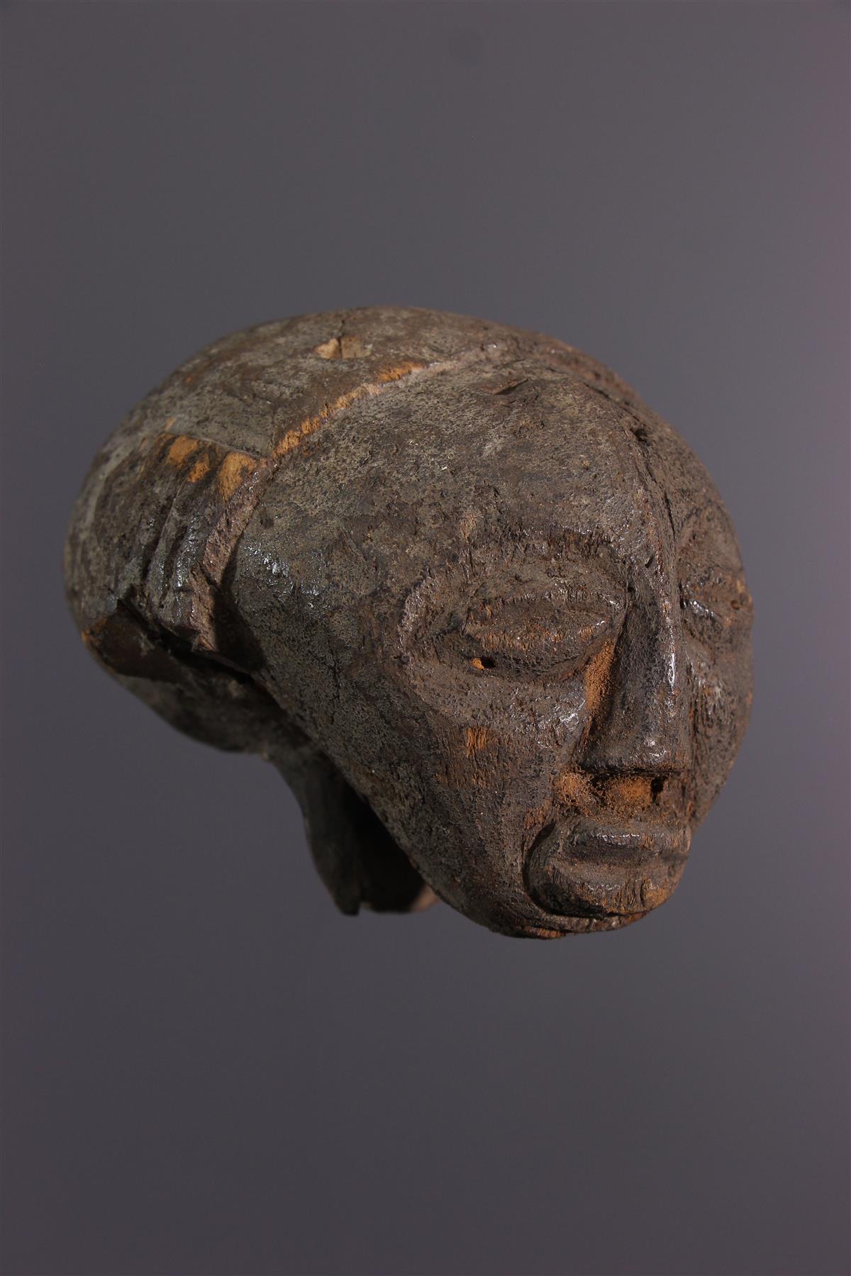 Head Luba - African art