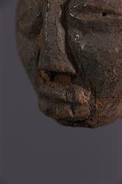 Statues africainesHead Luba