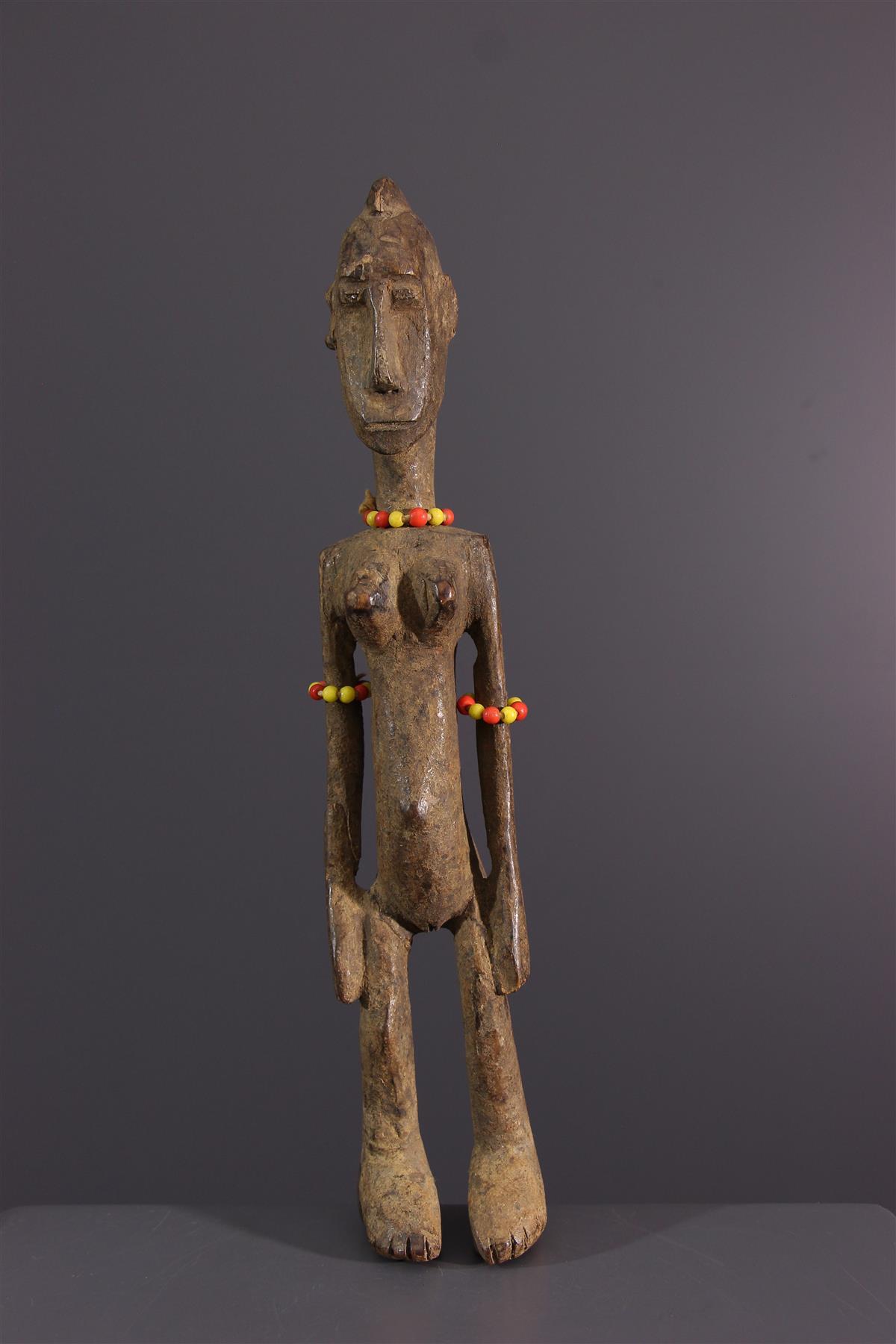 Bambara figure - African art