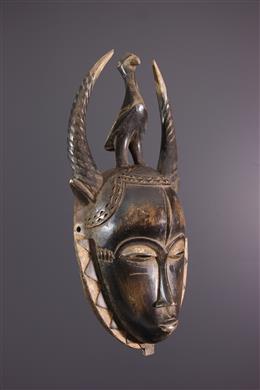 African art - Lomane Yaure mask
