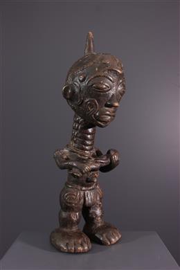 African art - Lulua maternity figure