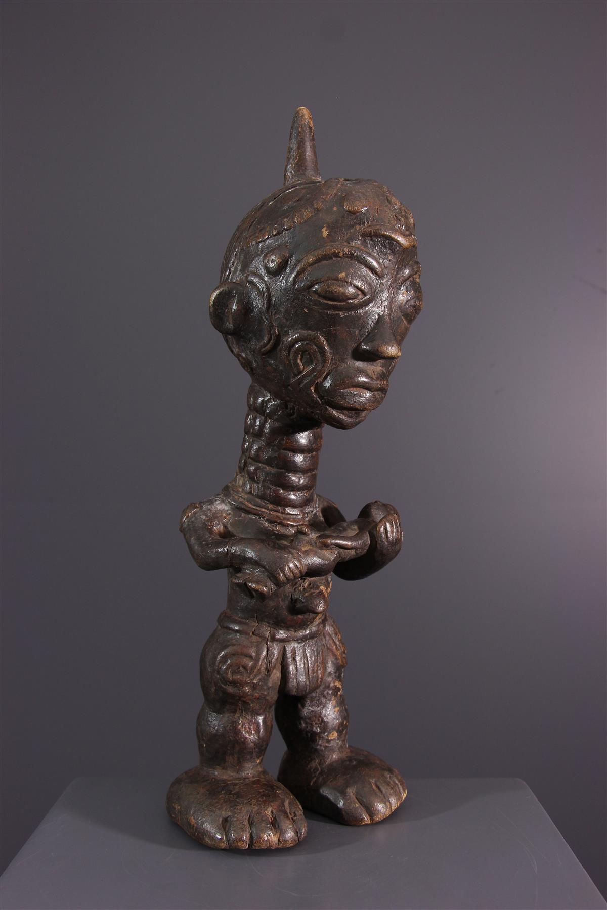 Lulua statue - African art