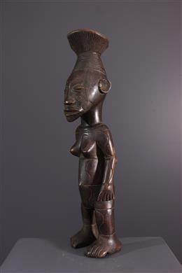 Female figure Mangbetu