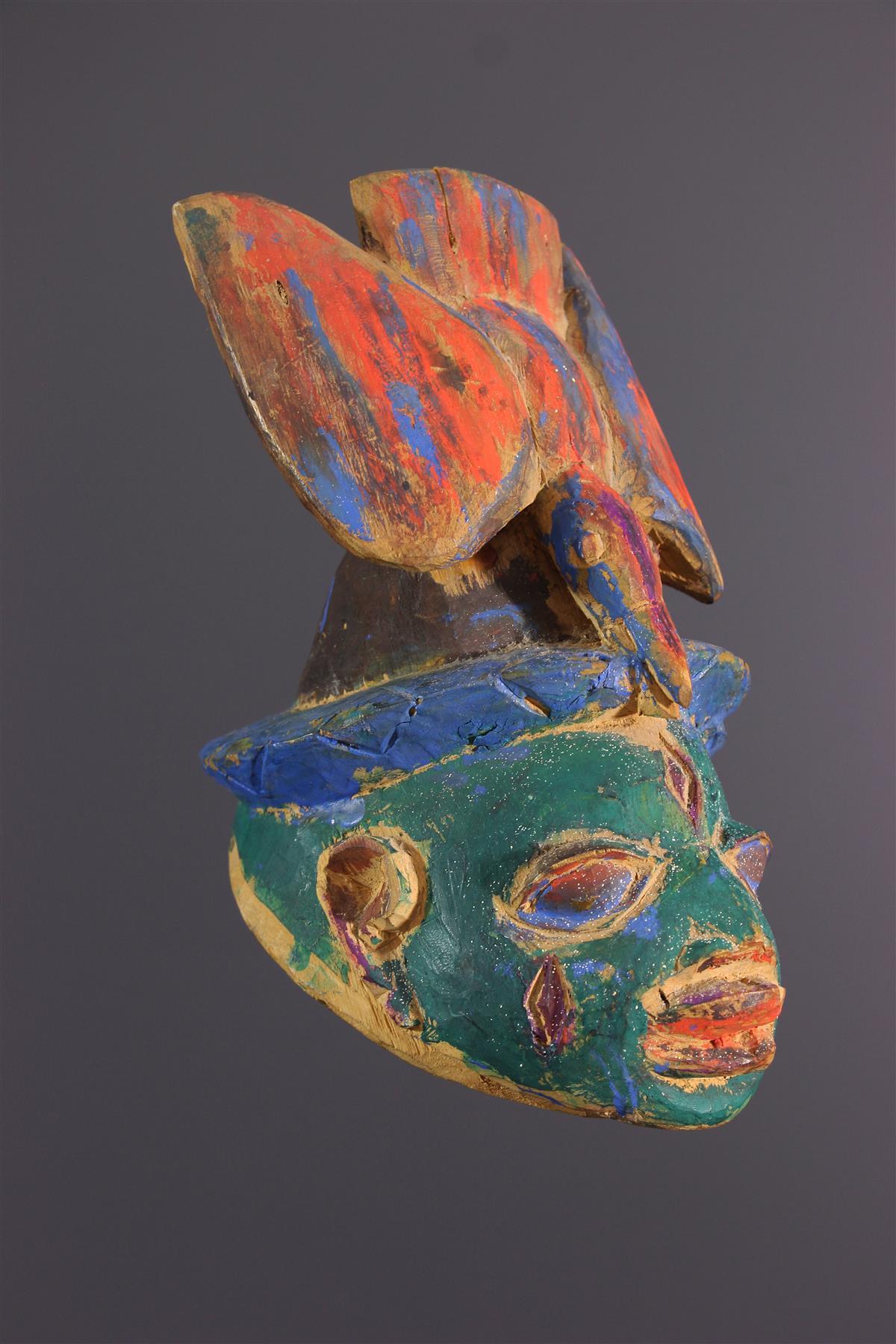 Gelede mask - African art