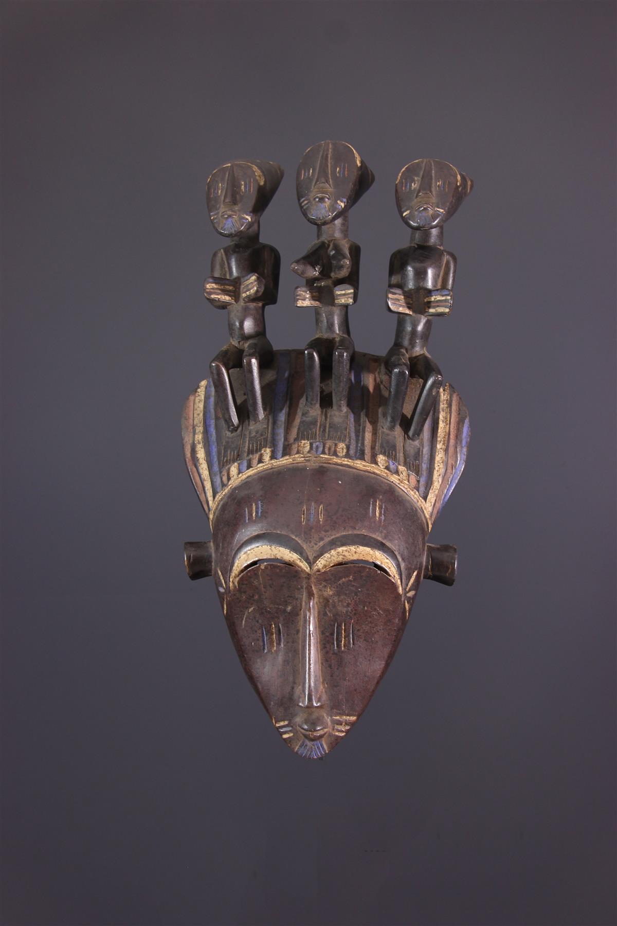 Koulango Mask - African art