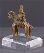 bronze africainHorseman Sao
