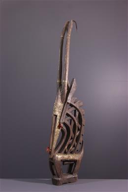 African art - Ci Wara Bamana Crest Mask