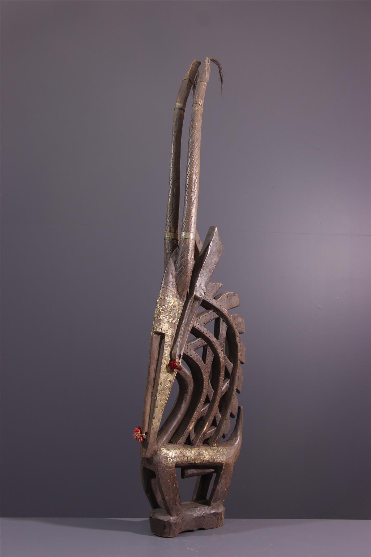 Bambara Mask - African art