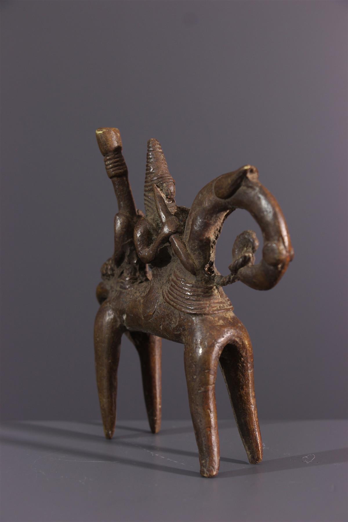 Bronze Sao - African art
