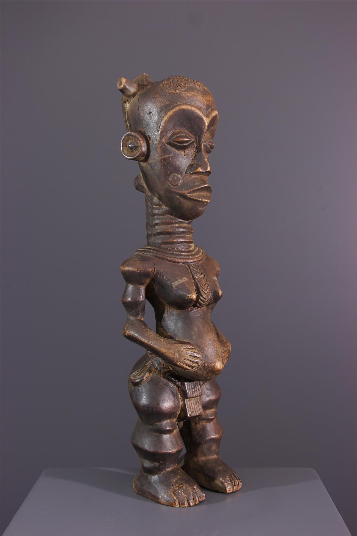 Statuette Luluwa - African art