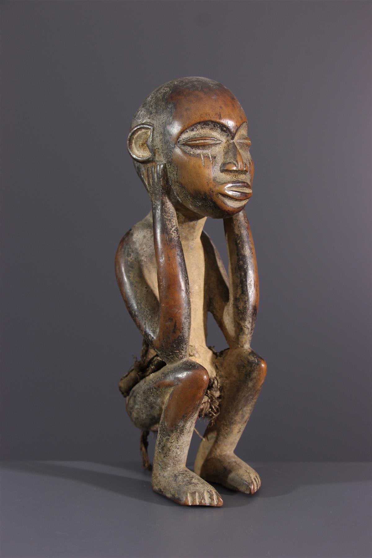 Statuette Pyaang - African art