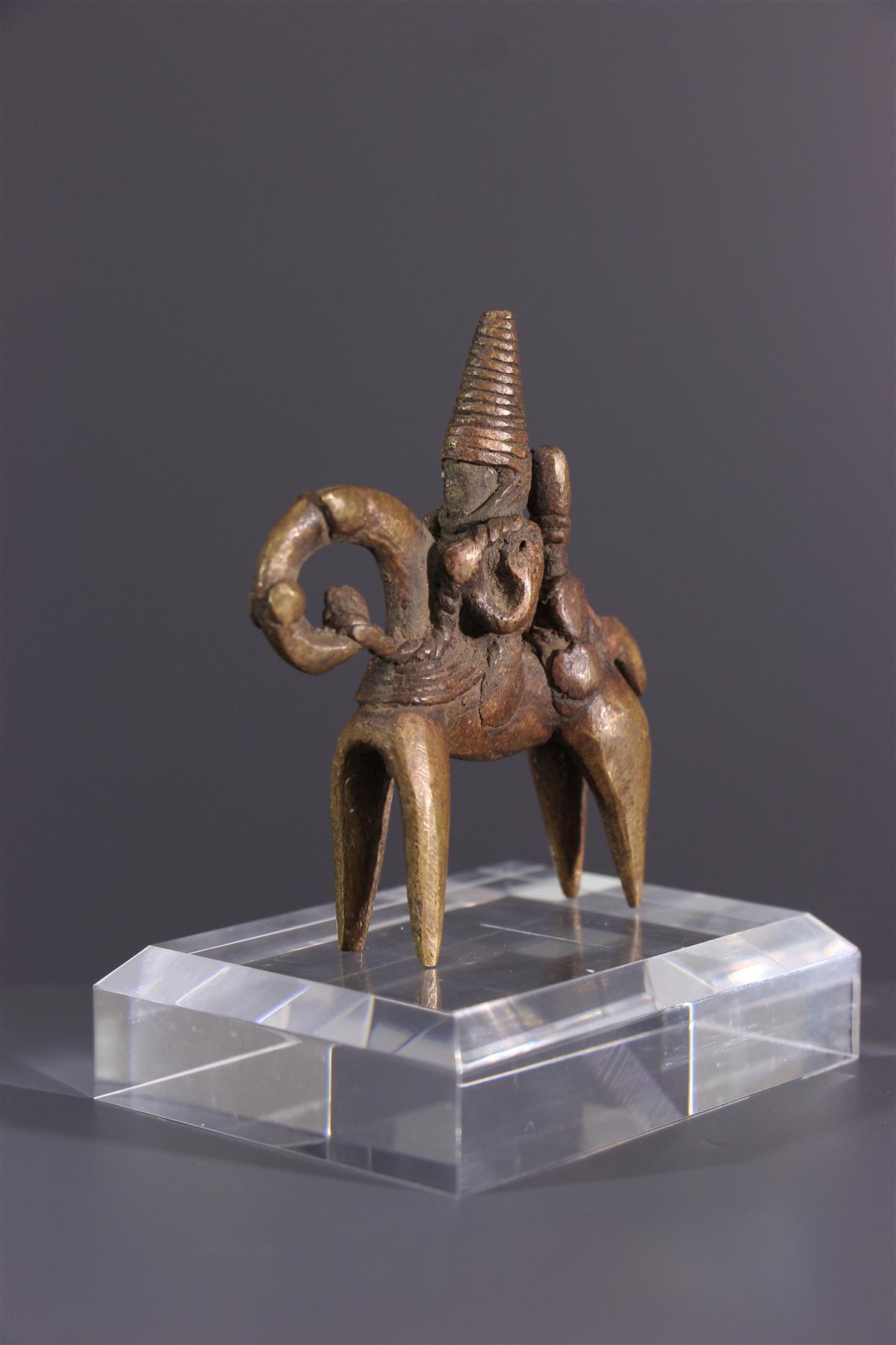 Horseman Sao - African art