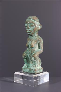 Bronze Kongo statuette