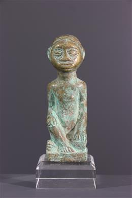 African art - Figure Kongo in bronze
