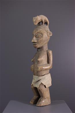 African art - Statuette Holo