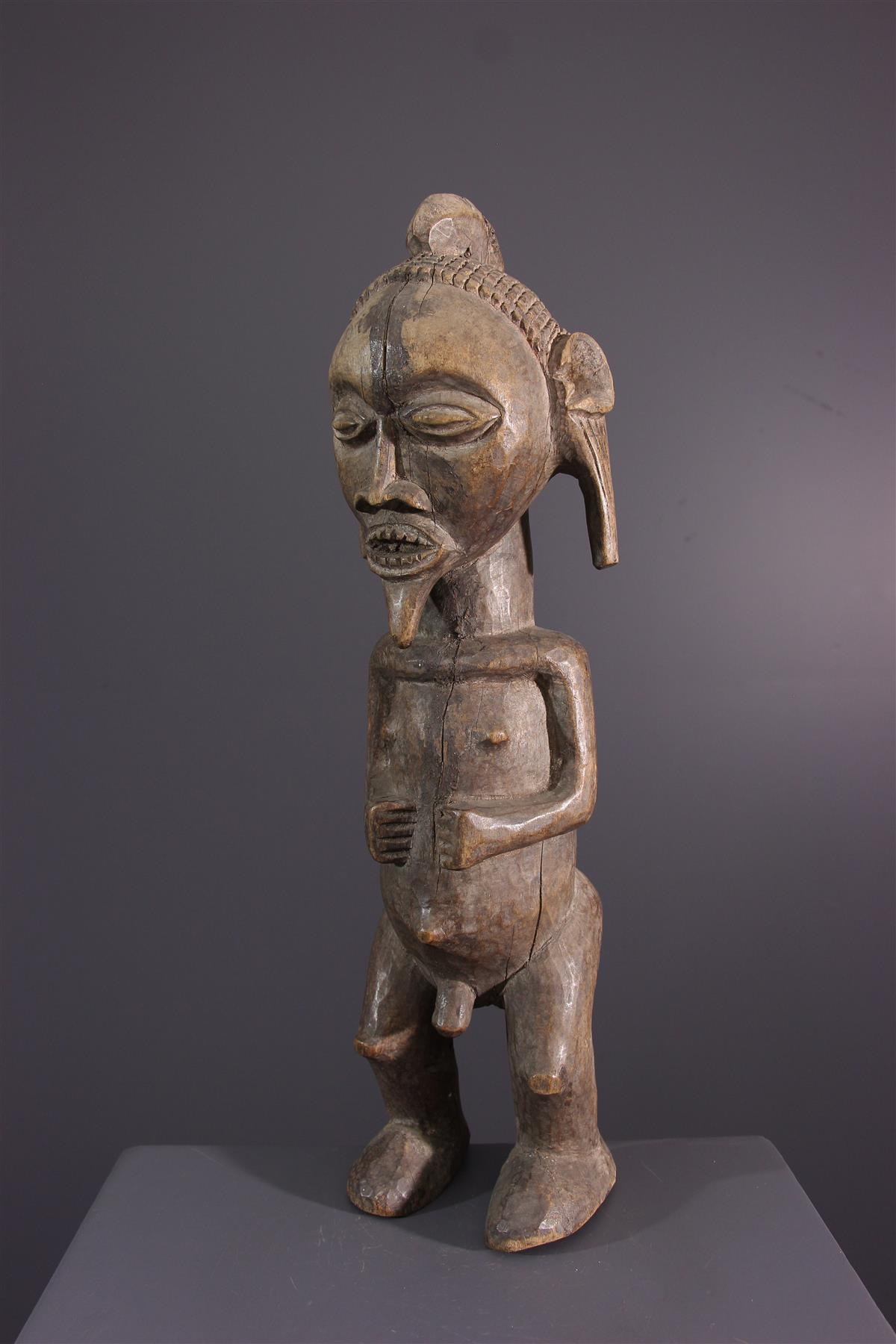 Statue Mbala - African art