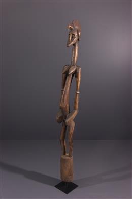 African art - Statue pestle Deble Senoufo