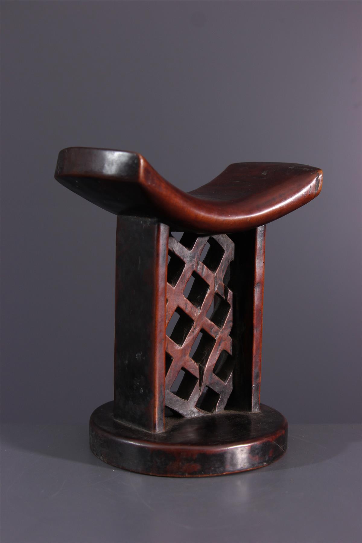 Lozi neckrest - African art