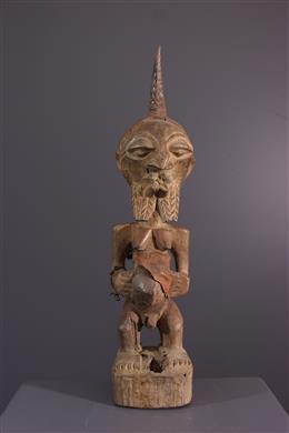 Songye Nkisi fetish statuette