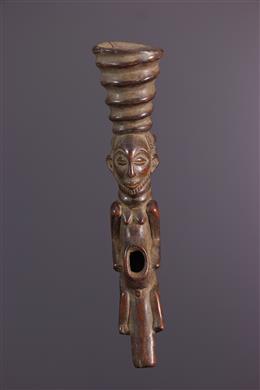 African art - Ceremonial Pipe Hemba