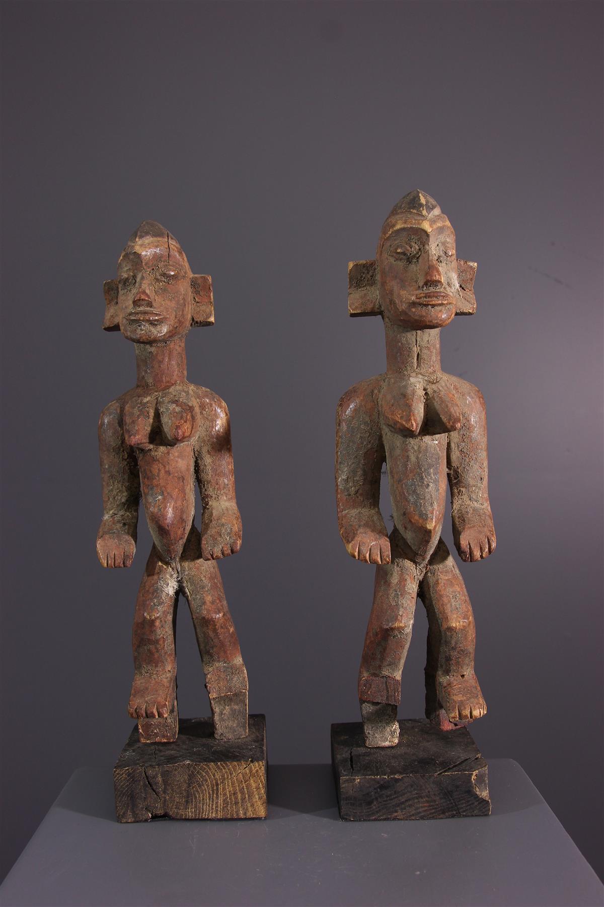 Senoufo statuettes - African art