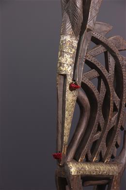 African art - Ci wara Bambara Crest Mask