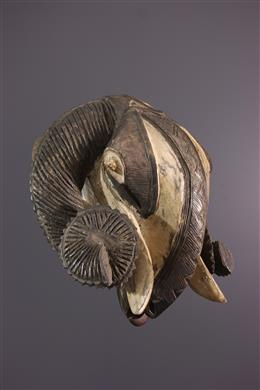 African art - Baoule  mask