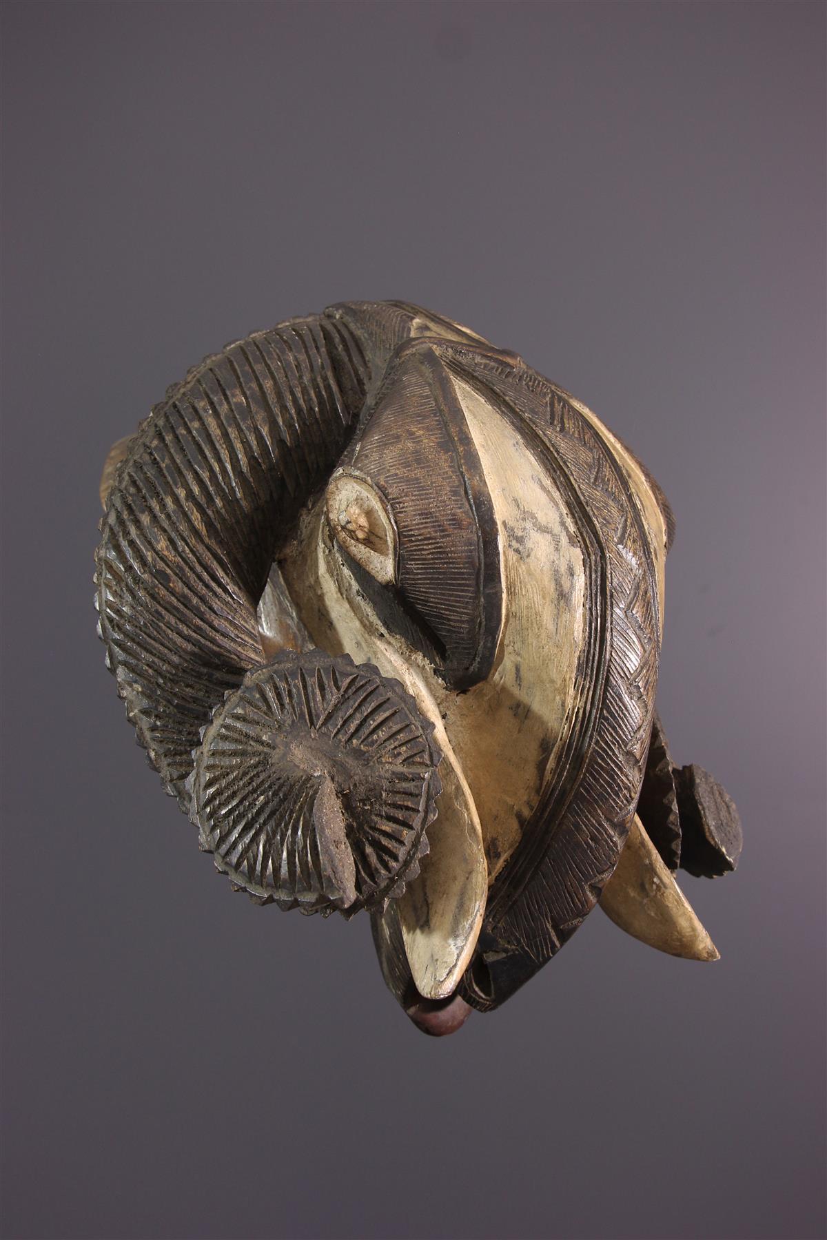 Baule Mask - African art