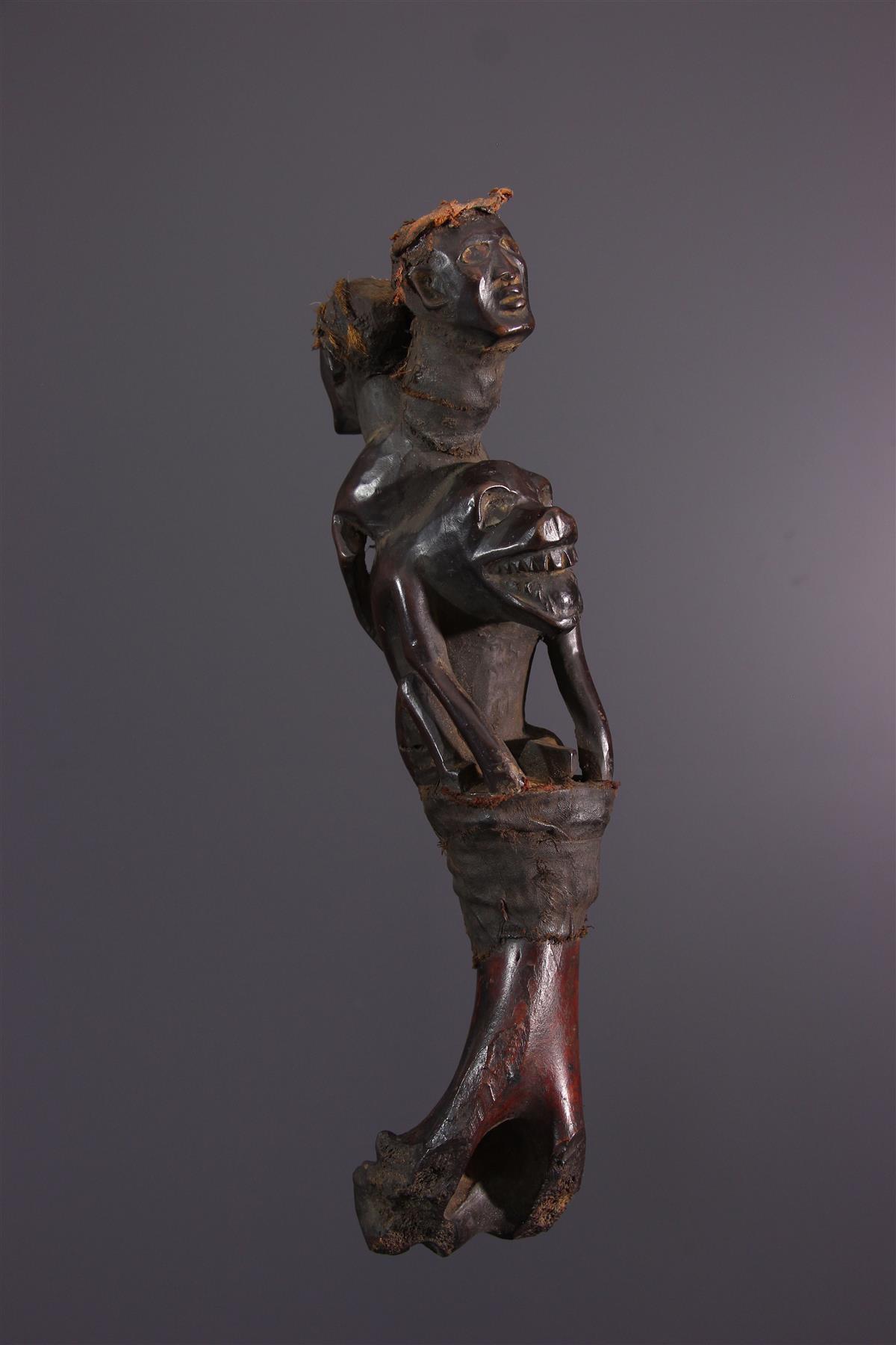 Kongo Badge - African art