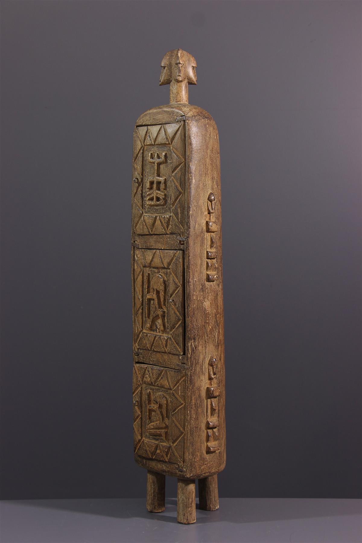 Dogon Box - African art