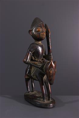 African art - Yoruba rider statuette