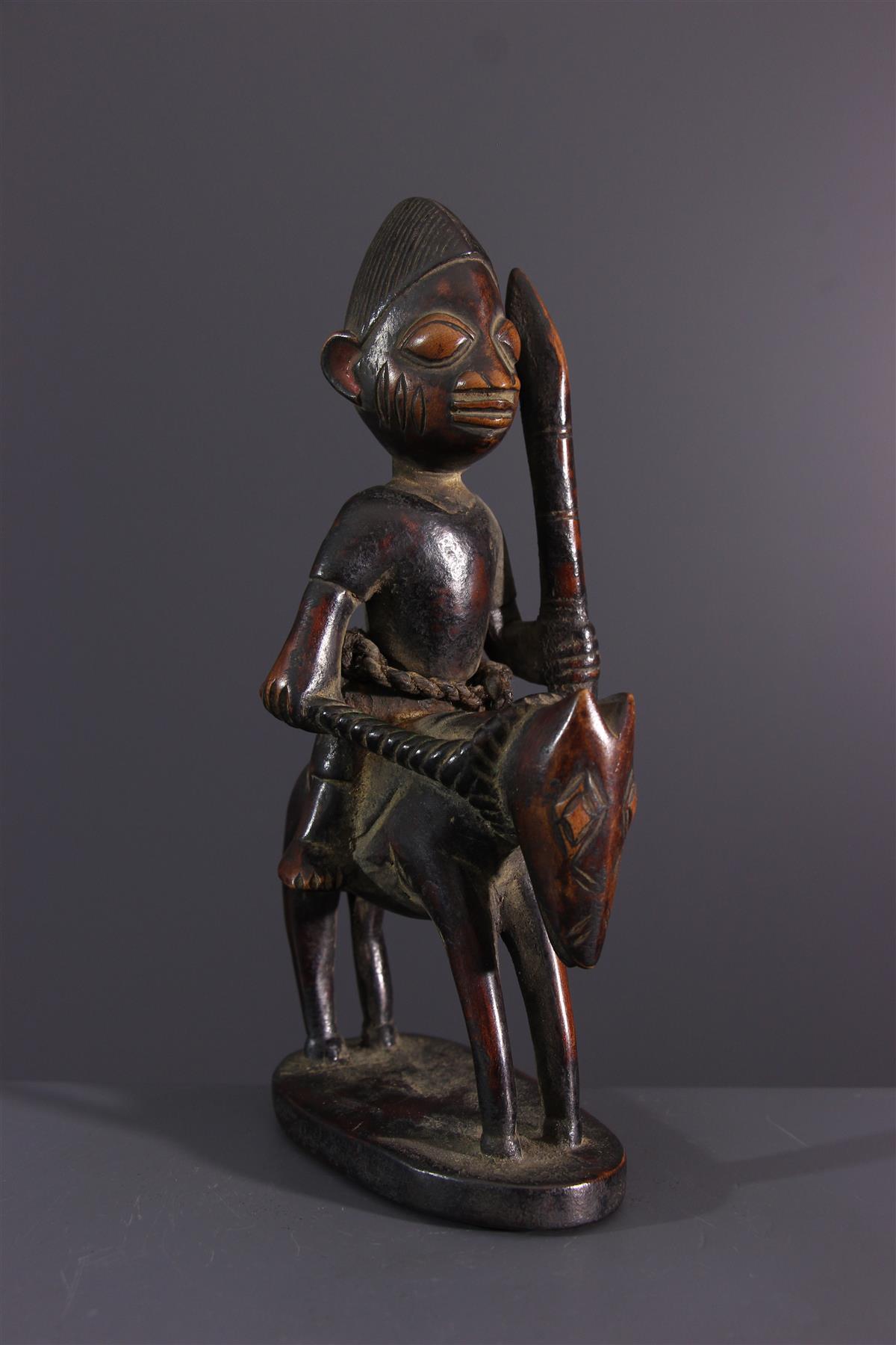 Cavalier Yoruba - African art