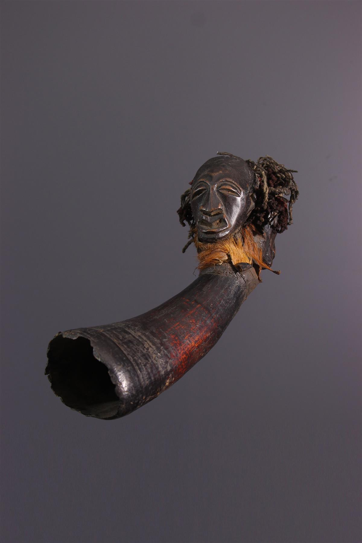 Songye Horn - African art