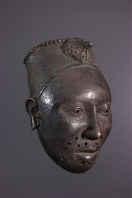 Bronze Ifé commemorative head