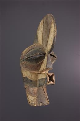 Songye Kifwebe Kilume Mask