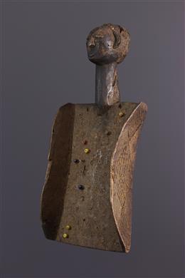 African art - Mnemonic board Luba Lukasa