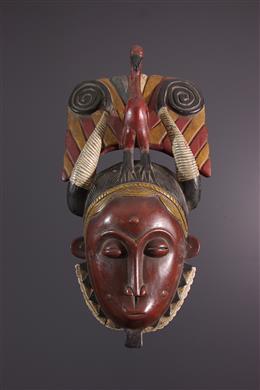 African art - Yaure Lomane mask