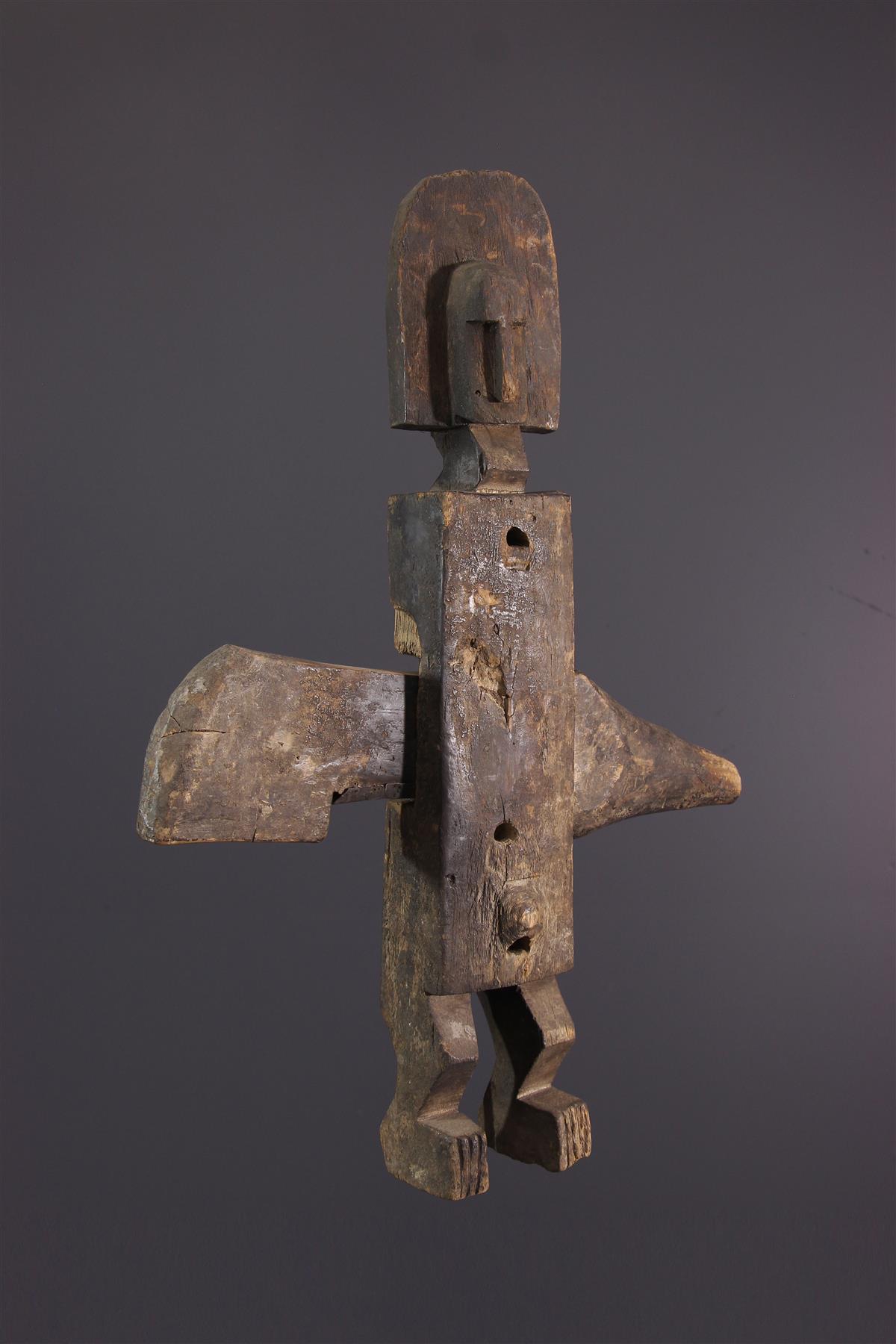 Bambara Lock - African art