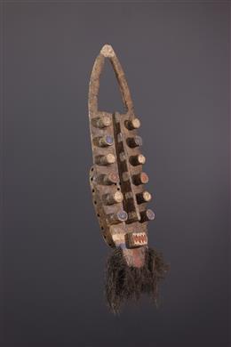African art - Masque facial Kru / Grebo